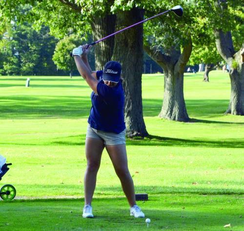 Cadillac hosts first girls' golf match
