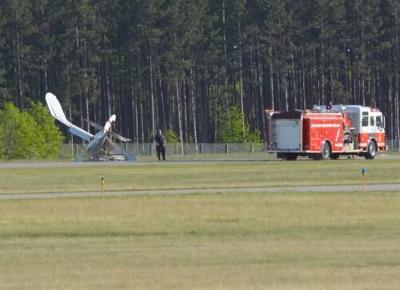 Small seaplane crashes at Wexford County Airport, no serious injuries reported