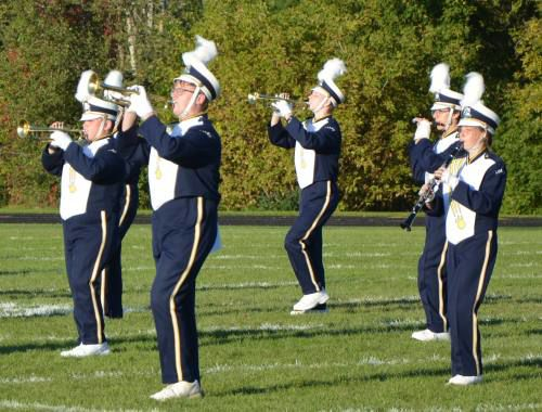 Bands take to the field