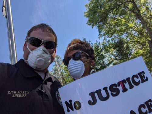 Black Lives Matter demonstration held Monday in Lake County
