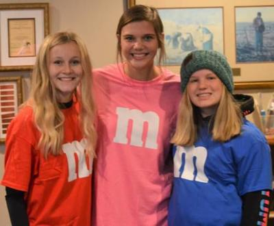 M and M girls on a mission