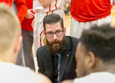 Ferris State's Bronkema coaching in TBT