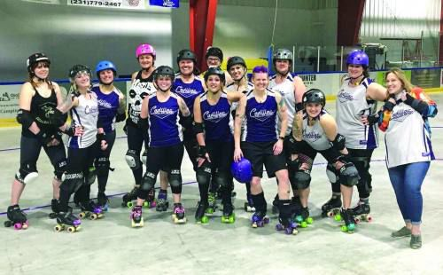 Roller derby for Father's Day?