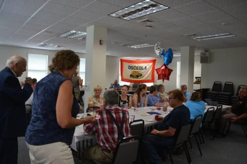 Delos Blodgett celebrates 150 years of Osceola County with the community