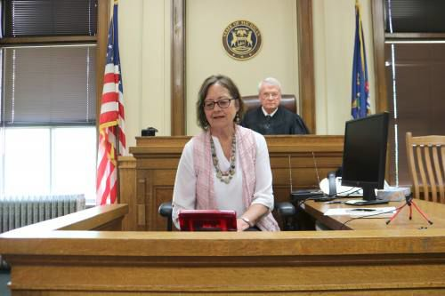 Jan Kelly retires from position of Wexford County court reporter