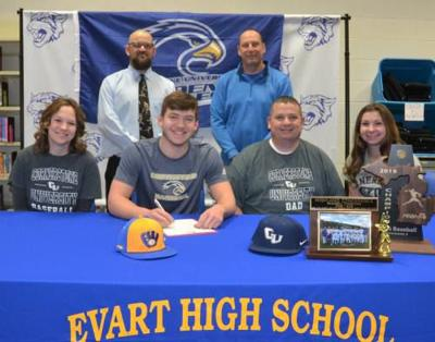 Evart's O'Dell to pitch for Cornerstone