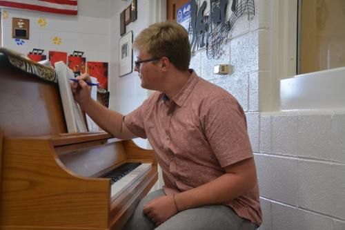 Evart High Schooler producing his own play to normalize teen struggles