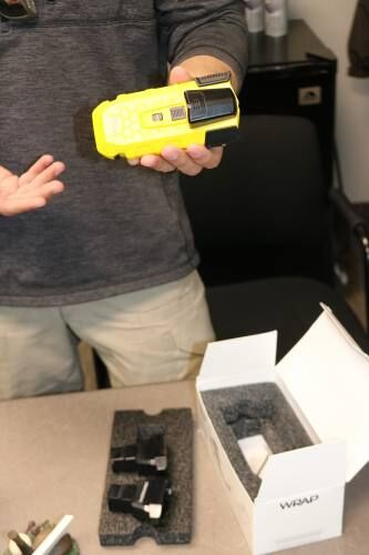 Wexford Co. Sheriff's Office gets training for new non-lethal device