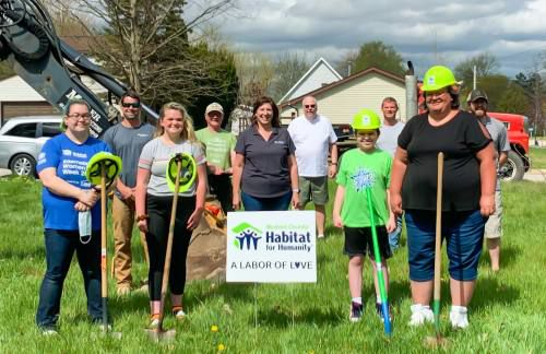 Crews start work at Habitat home
