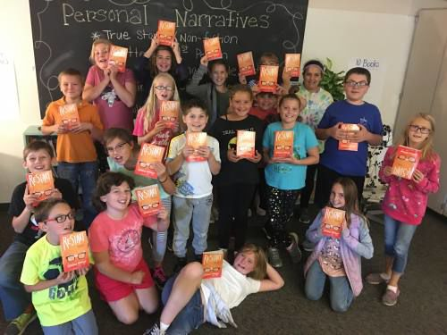Kids get new books every month, thanks to teachers' fundraisers
