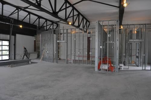Old Better Bodies building being transformed into Cadillac-Brews Coffee House