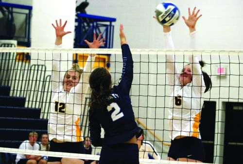 Cadillac volleyball sweeps past Petoskey