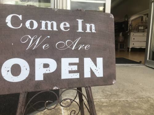 Locals, visitors hit stores and restaurants as region re-opens