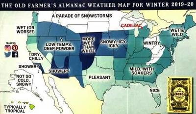 Warm and wet winter predicted | News | cadillacnews com