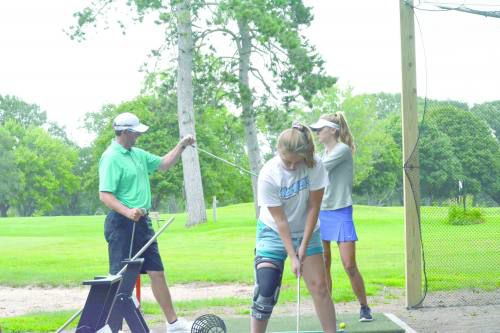 Their own team: Cadillac girls golf up and running