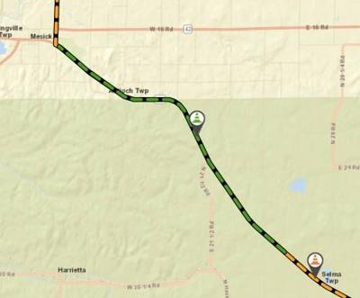 MDOT to resurface section of M-115 near Mesick starting Sept. 28