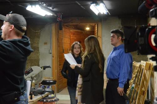 Cadillac, Evart area residents act in short film produced by Tustin native