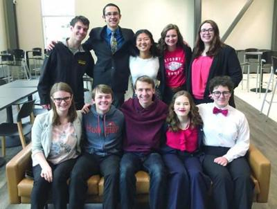 CHS forensic team places 8th in state tournament
