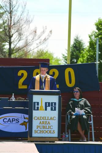 Cadillac's Class of 2020 gets to celebrate