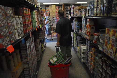 Fireworks retailers in Cadillac area, around the country report booming sales