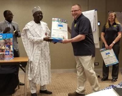 Marion man travels to Nigeria to train officials on emergency preparedness