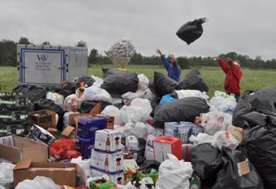 Struggling veterans charity runs into difficulty returning cans collected in fundraiser