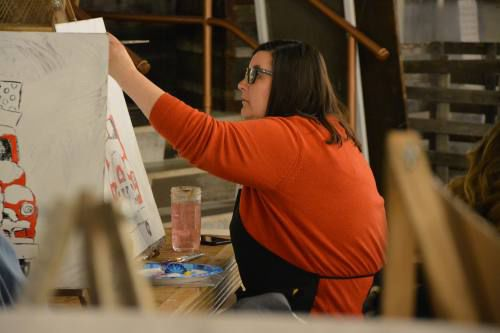 Paint Social offers stepping stone to painting in Cadillac