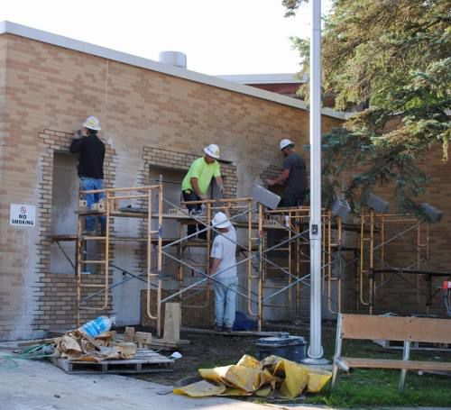 Scheduled summer work for CAPS construction nearly complete as the school year nears