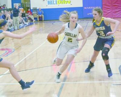 Cadillac's Anderson earns All-State honors