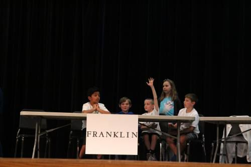 Elementary students compete in Viking Reading Rivalry | News
