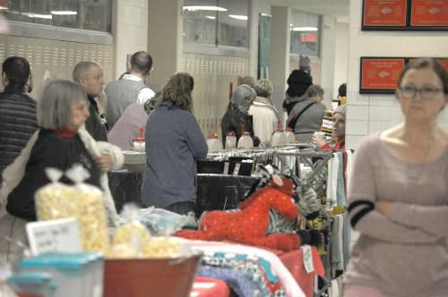 Vendors, visitors pack Reed City High School for annual craft show