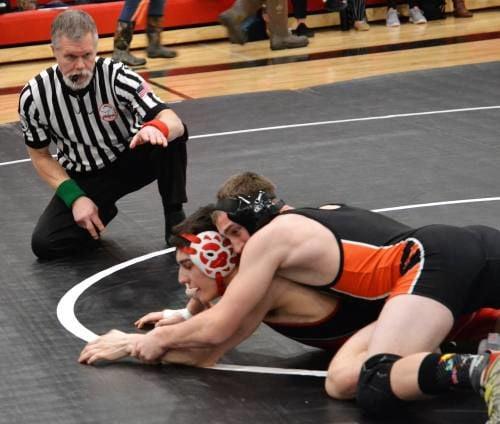 Ranger grapplers take team district title
