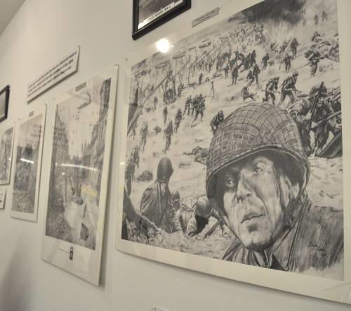Historical accounts of D-Day reveal resolve of Cadillac community