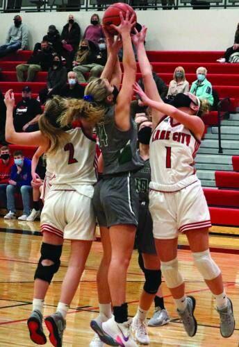 Lake City girls win on buzzer-beating half court shot