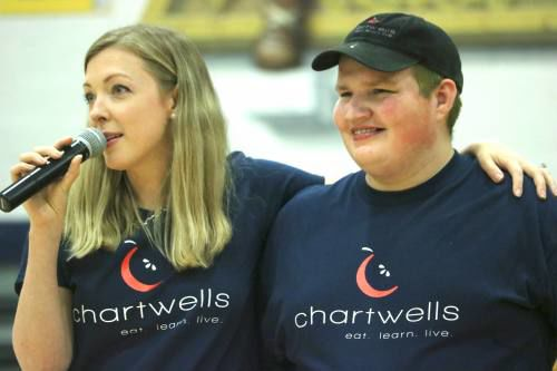 2 Cadillac Chartwells employees recognized with national awards