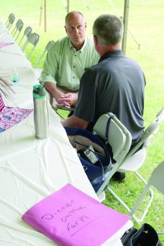 Rep. Moolenaar guest of honor at Farm Bureau's Dinner on a Farm event