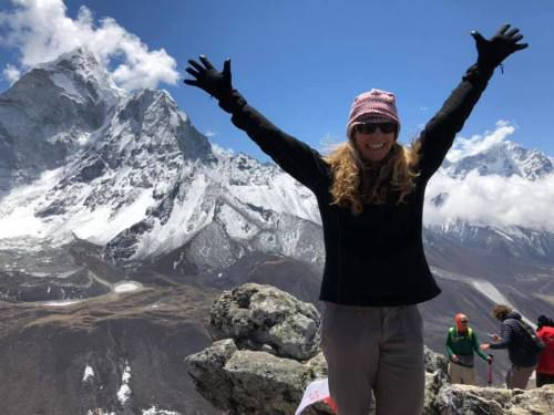 Cadillac climber witnesses overcrowding on trek to the Everest basecamp