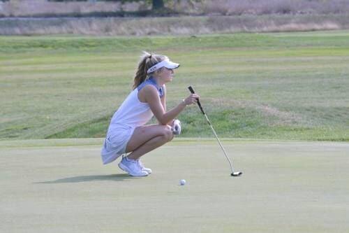 Cadillac golfers 4th at home invit
