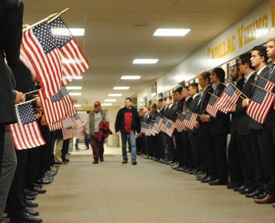 Cadillac High School hosts 50th Veterans Day Assembly