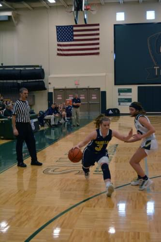 Cadillac girls hold off TC West