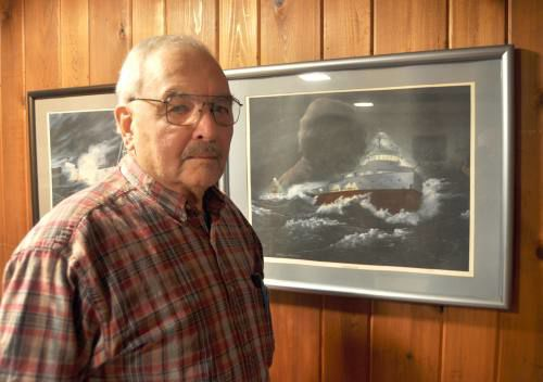 Cadillac man remembers helping to remove bell from Edmund Fitzgerald