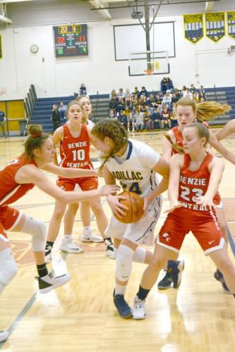 Cadillac girls rout Benzie