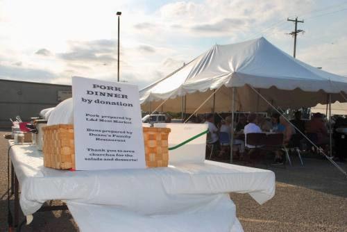 Weather hampers McBain Heritage Days but organizers make it work