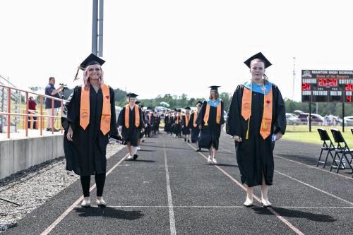 Manton High School sends off Class of 2020