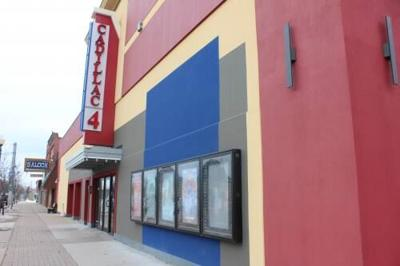 Movie theater opening Friday