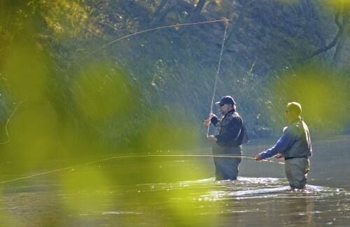 Fishing opportunities heat up as temperatures, leaves fall