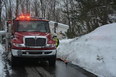 Crews respond to chimney fire in LeRoy