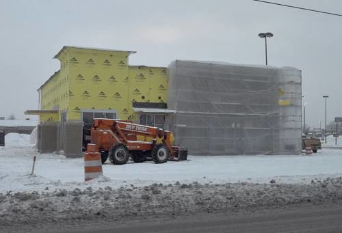 A look at some of the ongoing construction projects in the Cadillac area