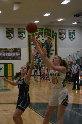 McBain girls beat St. Francis