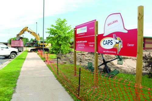 CAPS construction heats up as summer starts